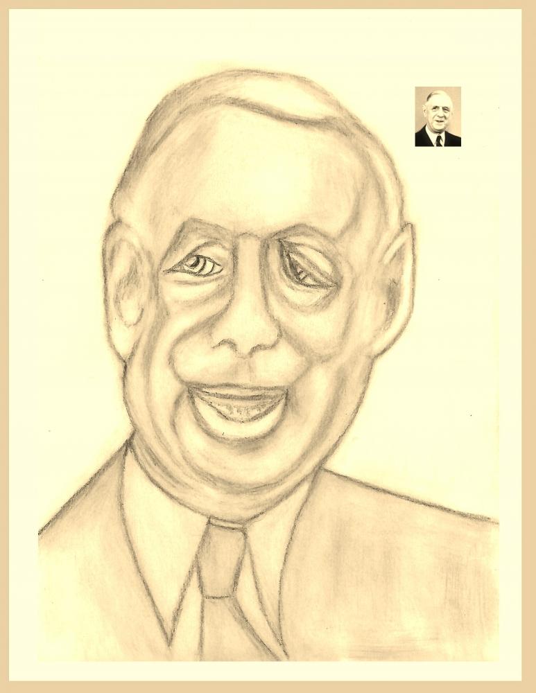 Charles de Gaulle by Vuilletjossjoss